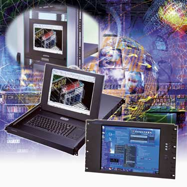 "Cyberview 19"" Monitor-Einsch�be"