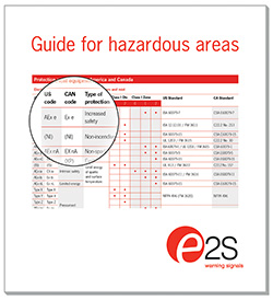Hazardous area guide