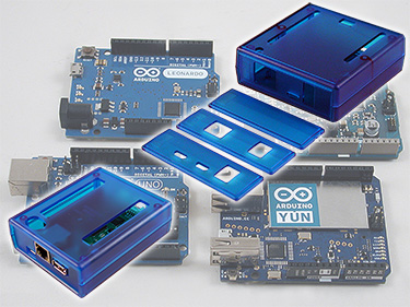 Dedicated Arduino and BeagleBone enclosures