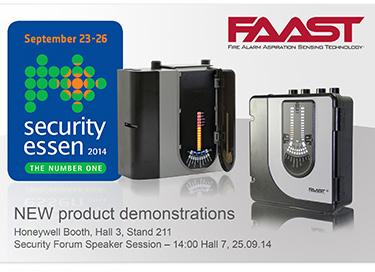 FAAST at Security Essen 2014
