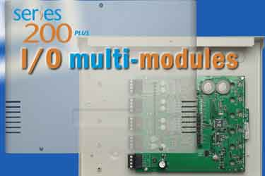 Multiple I/O modules for fire system control